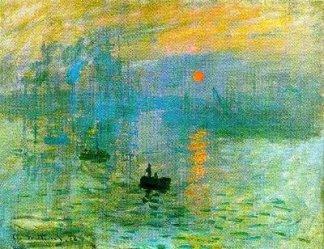 Nascer do sol - Monet
