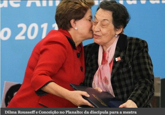 Dilma e Conceição 2012