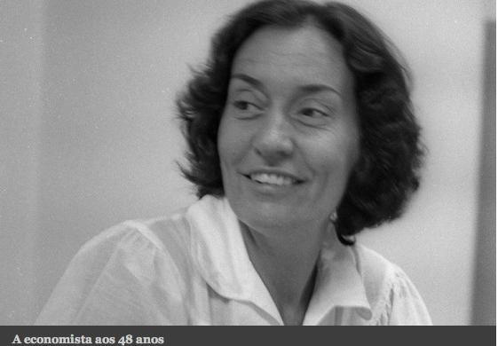Maria da Conceição Tavares aos 48 anos