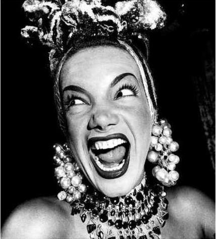 Carmen Miranda em Foto de Jean Manzon