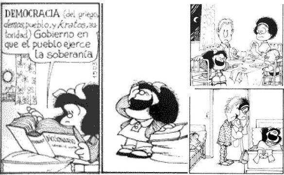 Mafalda e a Democracia