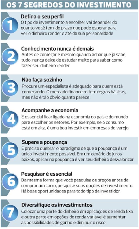 7 Segredos do Investimento