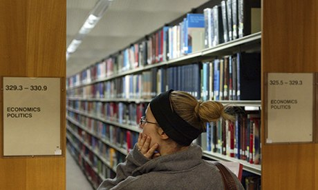 Durham University library economics and politics books
