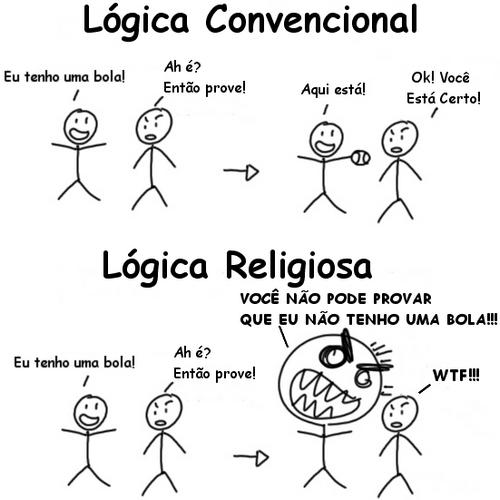 logica convencional X religiosa