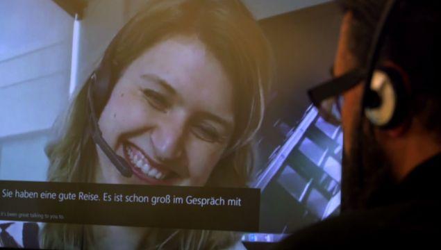 Tradutor simultâneo do Skype