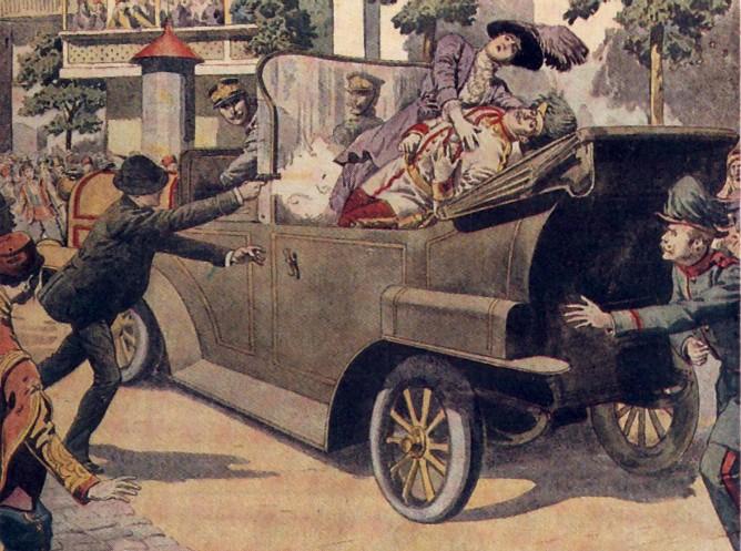Atentado de Sarajevo 28juillet1914