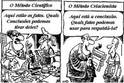 Método Científico X Método Criacionista
