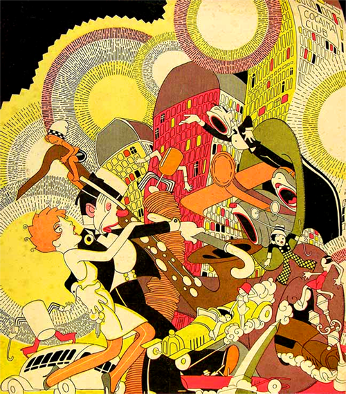 J Carlos - Calle Florida - Buenos Aires - 1930