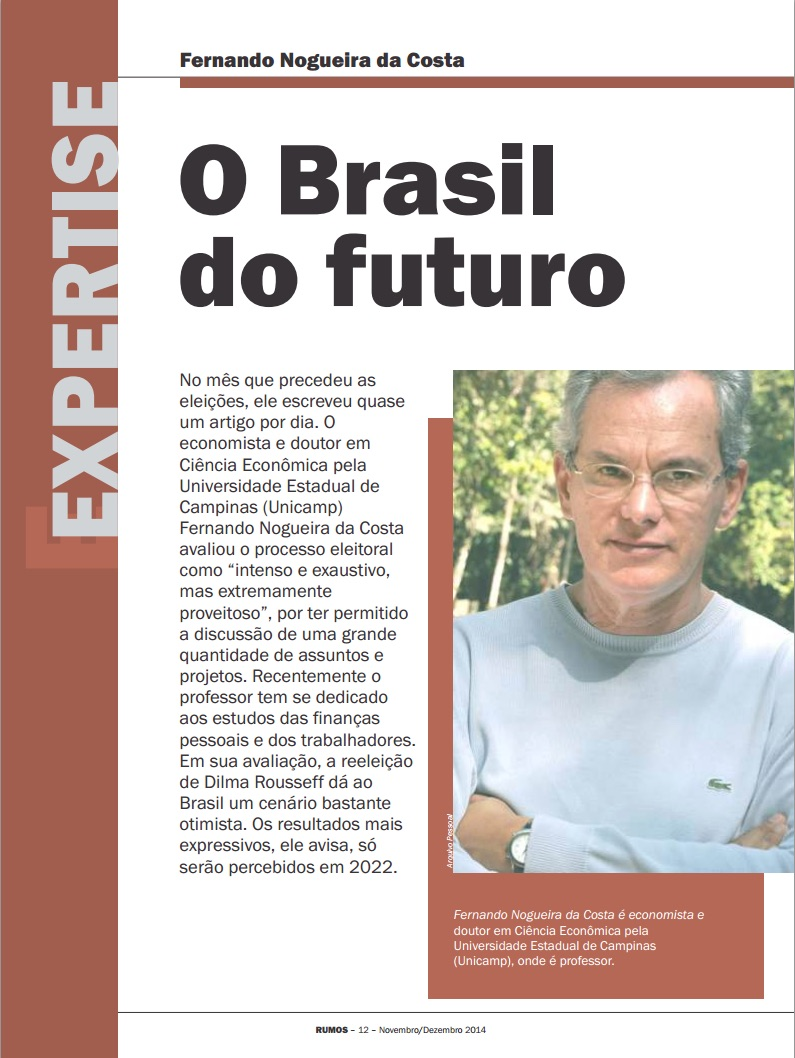 Revista Rumos nov-dez 2014