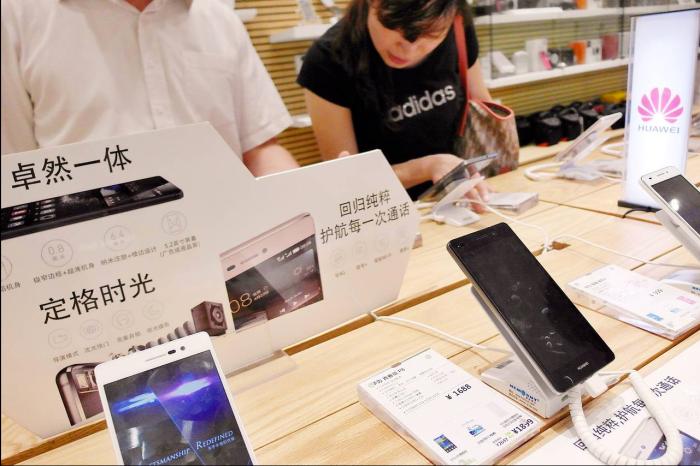 Smartphone na China