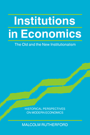 Institutions in Economics