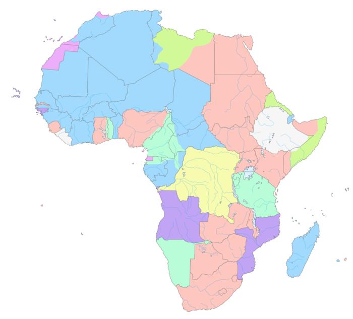 Colônias africanas