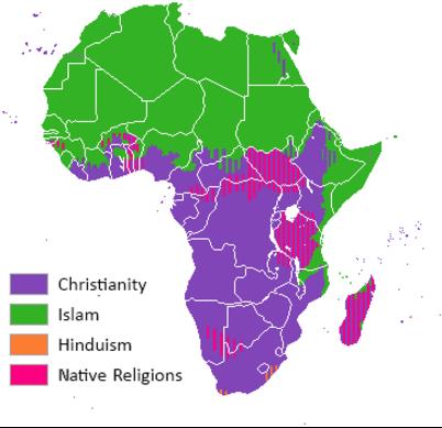 Religiões na África