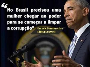 Obama sobre a Dilma