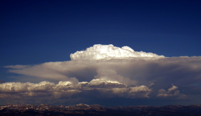 Nuvens sobre Monhtanhas