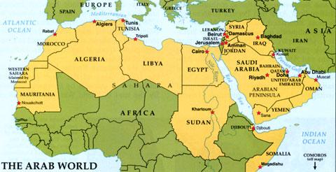 Arab-world-countries