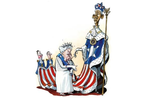 Queen UK X President EUA