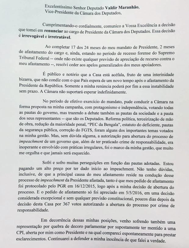 Carta de Cunha 1