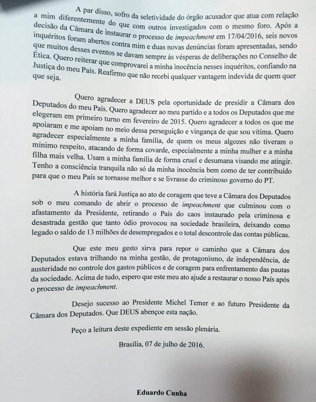 Carta de Cunha 2