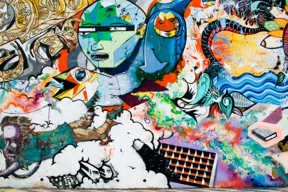 Avenida Paulo VI, sem número, Sumaré. Foto por André Deak para o Arte Fora do Museu (http://www.arteforadomuseu.com.br)