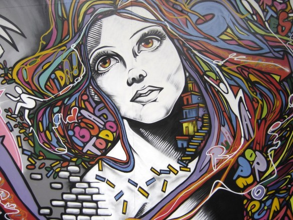 grafite-mulher